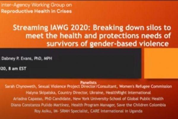 Title slide from presentation.